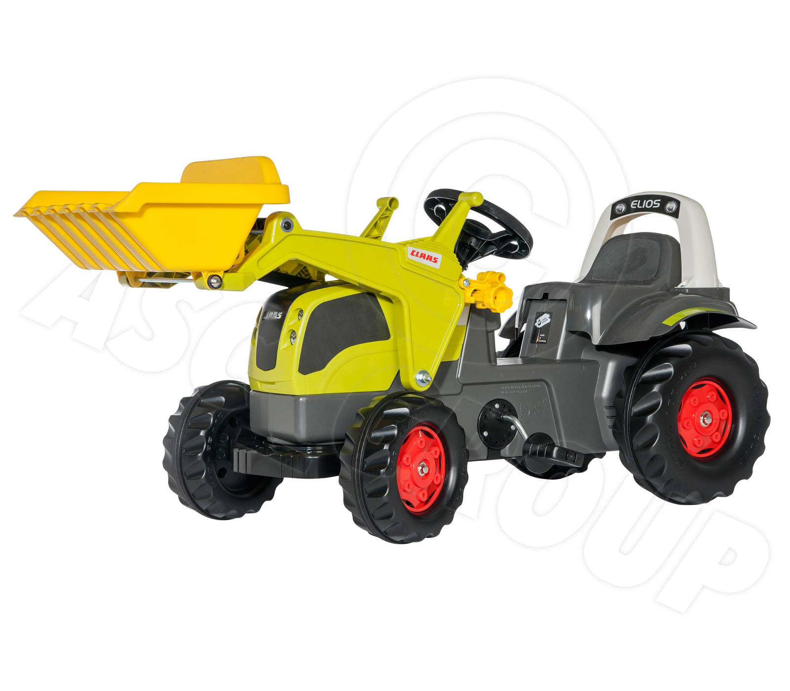 Claas Arion 640 Tractor with Front Loader