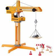 Hape Wooden Crane Lift photo